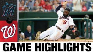 Marlins vs. Nationals Game Highlights (7/20/21)