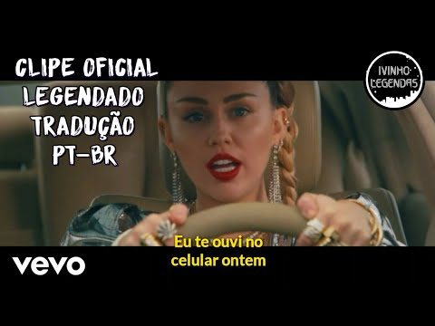 Mark Ronson Ft. Miley Cyrus - Nothing Breaks Like A Heart (Clipe Oficial) (Legendado/Tradução PT-BR)