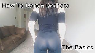 How To Dance Bachata (Como Bailar Bachata) Romeo Santos - Imitadora