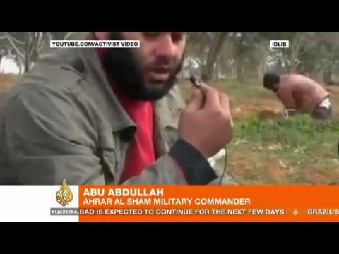 Syrian opposition forms chemical weapons unit