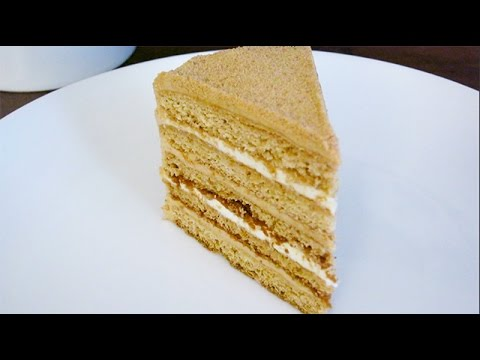 how to prepare honey cake