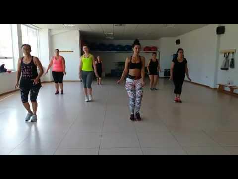 """TANIA ZUMBA """" Me rehusó""""coreografia creada by TANIA canción by Danny Ocean"""