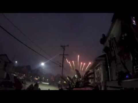 4th of july Oakland firework show 2015