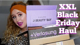 XXL Black Friday Haul | Beauty Bay | Urban Decay | Riders Deal | Make Up Revolution | & Verlosung