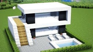відео майнкрафт як зробити будинок невеликий але