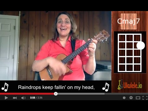 Raindrops Keep Falling On My Head Easy Ukulele Songs By 21 Songs In