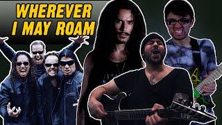 Metallica - Wherever I May Roam in the style of MODERN METAL
