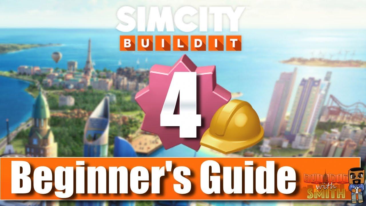SimCity Build It - Level 4: Commercial Buildings