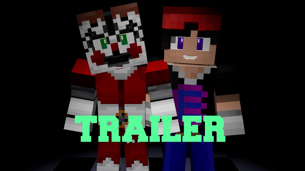 Minecraft pe fnaf sister location texture pack trailer 274071
