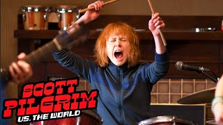 Scott Pilgrim vs. the World | Learning to Play Instruments | Bonus Feature Clip