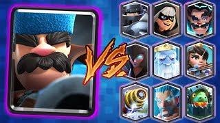 CAZADOR vs TODAS LAS CARTAS DE CLASH ROYALE thumbnail