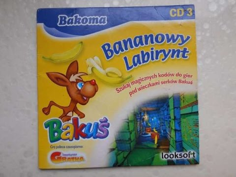 Topnotch Gry z kurzu: Bakuś Bananowy Labirynt - OMG! Co to jest?! - YouTube QX23
