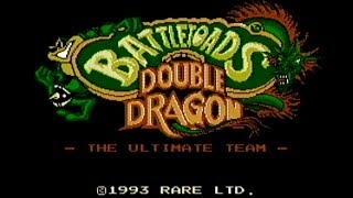 Battletoads / Double Dragon - NES Gameplay