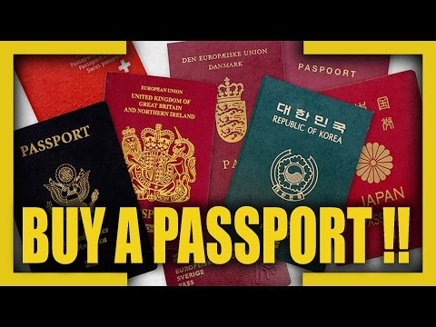 Top 10 Citizenship For Sale ( Buy a Passport )