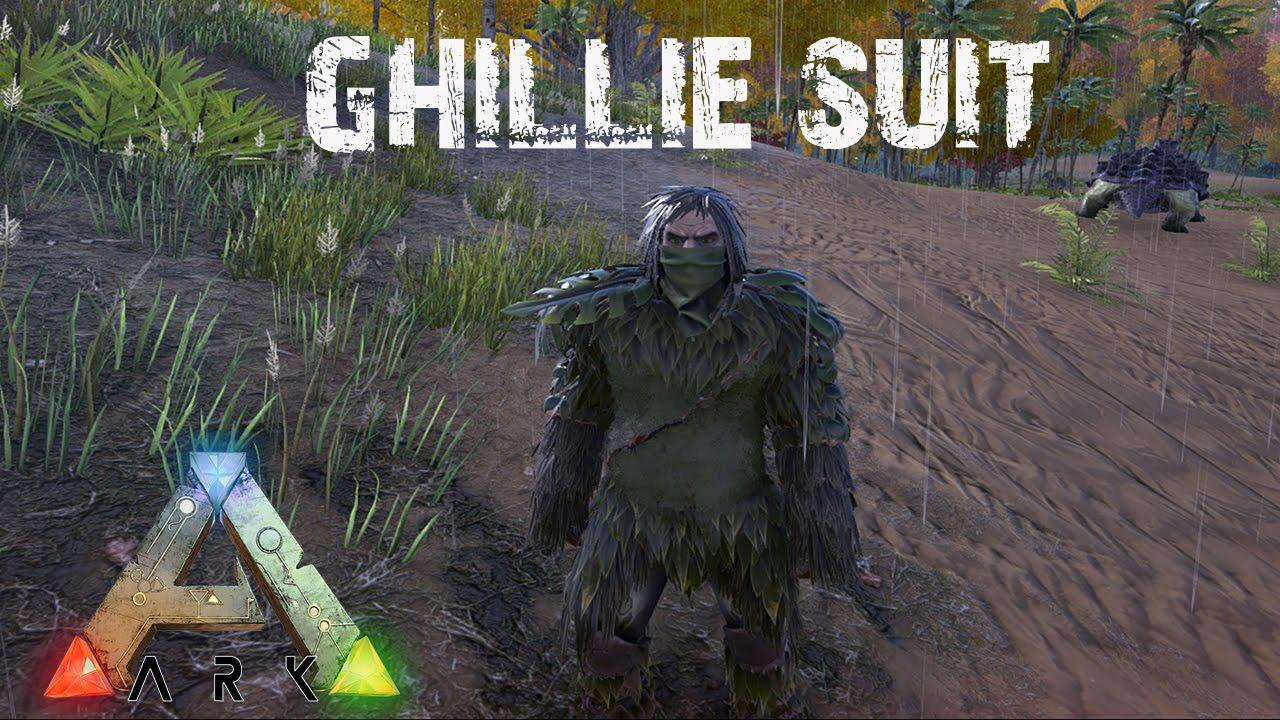 ark survival evolved ghillie