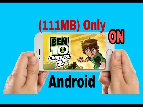 How to  Download Ben 10 Omniverse 2  ( 111MB) High Graphics on your Android