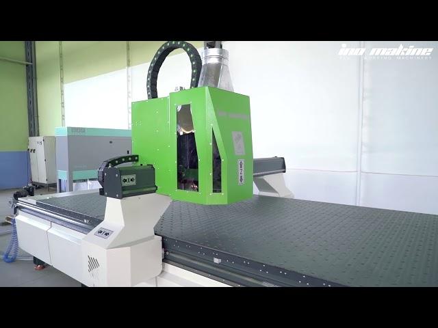 ino XT 1640 - CNC Aluminium and Composite Panel Machining Center.