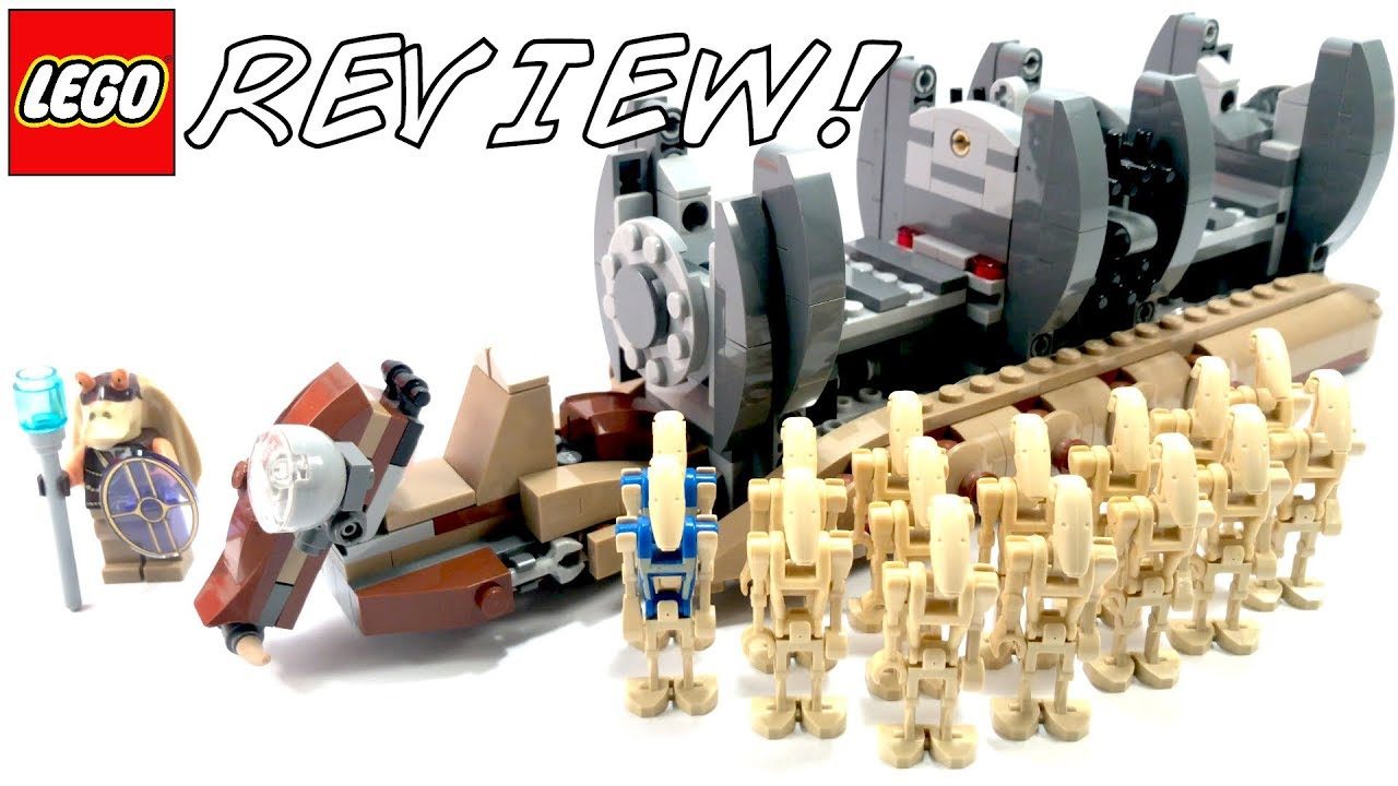 Lego Star Wars Battle Droid Carrier Comes With Figures