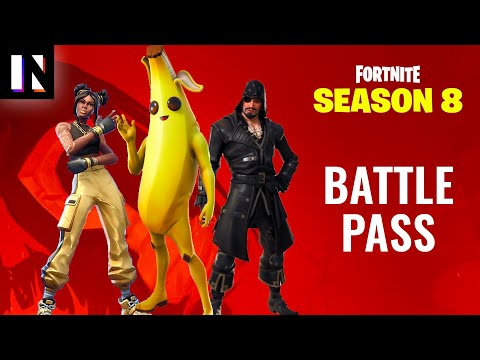 Fortnite Season 8 Battle Pass Skins and Full Overview   Inverse