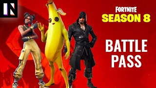 Fortnite Season 8 Battle Pass Skins and Full Overview | Inverse