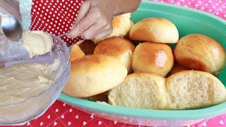 Pão Sem Sovar Super Fofinho