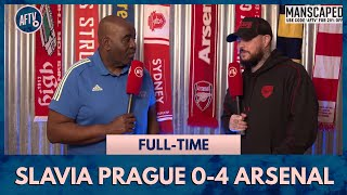 Slavia Prague 0-4 Arsenal | The Irony, All Our Goal Scorers Were Black! (DT)
