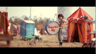 Pug drums a beat ad – Vodafone SuperNet™ 4G