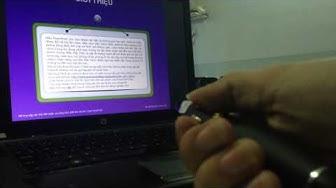 Hướng dẫn sử dụng bút trình chiếu [kythuatsovn.com]