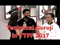 Technical Guruji on Red Carpet YouTube Fanfest 2017 ytff2017