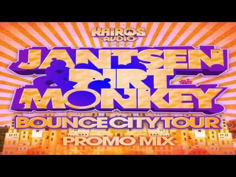 Jantsen & Dirt Monkey - Bounce City Tour Promo Mix #AddictiveAudio