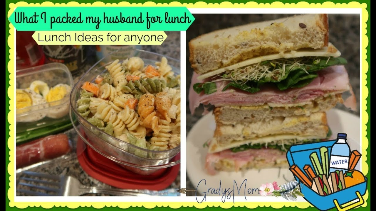 What I Packed My Husband For Lunch