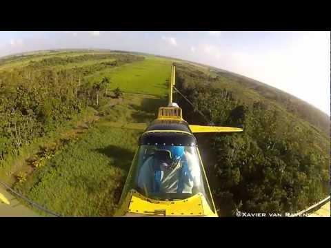 ERK Farms Ag-Cat Crop Dusting In Saramacca Suriname