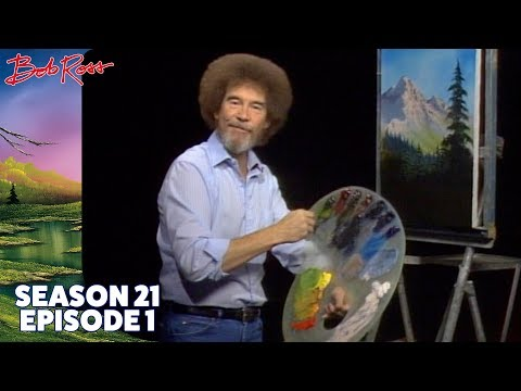 Bob Ross - Valley View (Season 21 Episode 1)