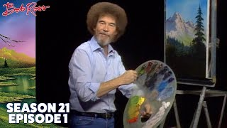 Bob Ross: Valley View - The Joy of Painting (Season: 21 Episode: 01)
