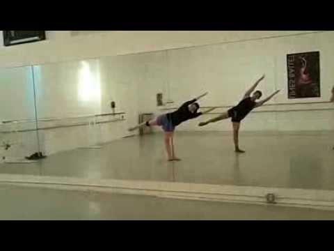 Balance Study for Horton Technique Modern Dance Class