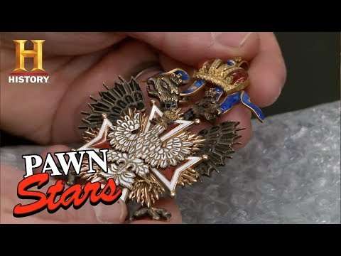 Pawn Stars: White Eagle Medallion | History