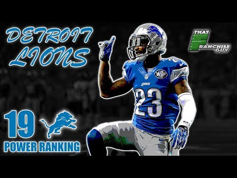 Deep Dive Into The 2019 Detroit Lions | Power Ranking: 19