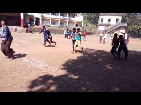 Three-leg Race | Sports day celebration | HDA High School, kalusta | 1& 2 January 2019