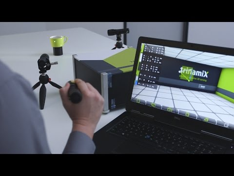 3D scanning system with freely movable light sources to generate 3D models – XperYenZ™ by trinamiX