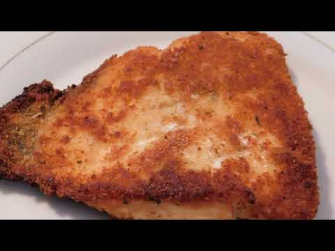 How To Fry Fish, Coating FISH WITH PANCAKE MIX BATTER,BREAD COATING, Pan-Fried Salmon