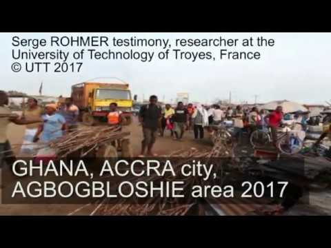 Agbogbloshie, soon an e-waste recycling facility