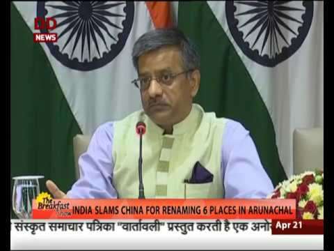 Change names all you want, Arunachal is India : MEA