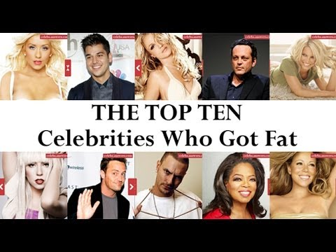 Top 10 Celebrities Who Got Fat Celebsanswerscom Youtube - 10-celebrities-without-makeup-answers