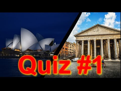 Quiz for kids and adults. Can you name these famous buildings around the world? With facts #1
