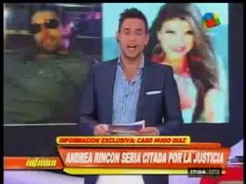 Ex pareja de Hugo Díaz también confirma la relación con Andrea Rincón