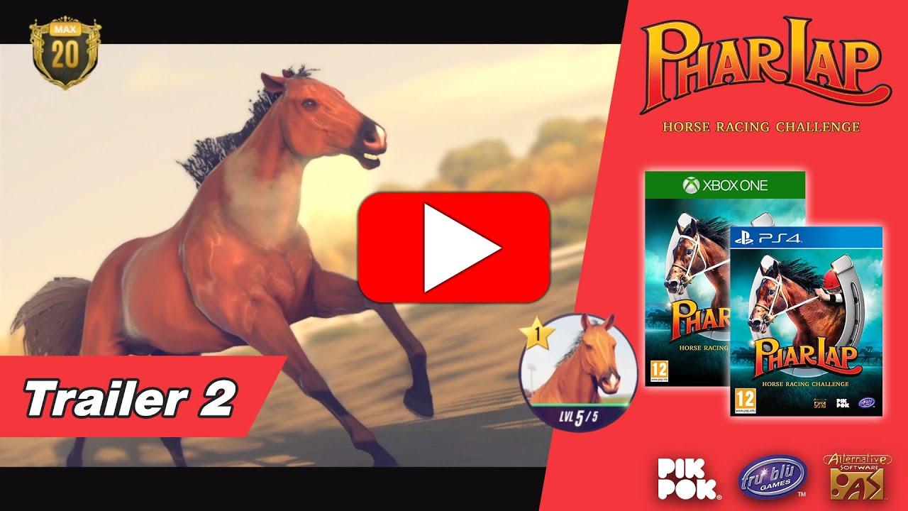 Phar Lap Horse Racing Challenge Trailer 2 Youtube