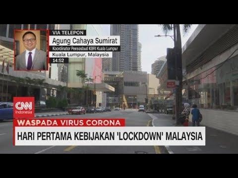 Hari Pertama Lockdown, Malaysia Relatif Lengang, Tidak Seperti Biasanya