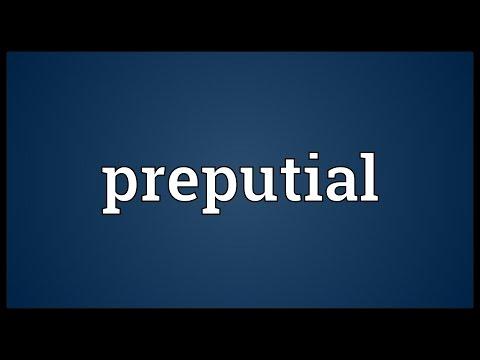 Header of preputial