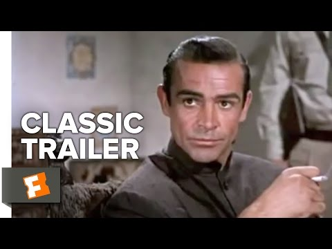 Dr. No Official Trailer #1 - Sean Connery Movie (1962) HD