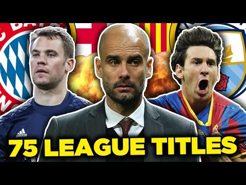 Pep Guardiola's Greatest Ever XI! | Messi, Neuer & Dani Alves